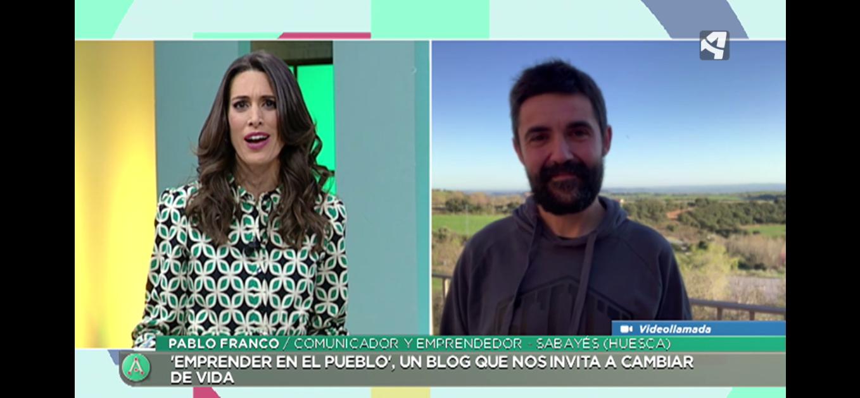 Emprender en el pueblo en Aragón Tv